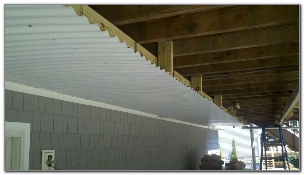 Under Deck Ceiling Ideas