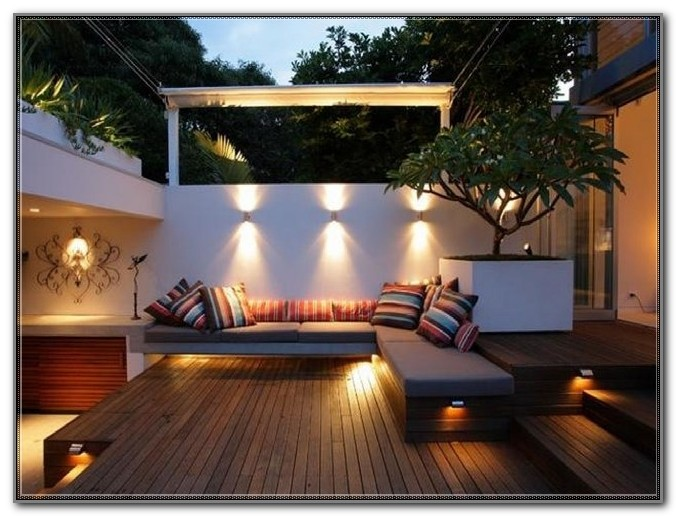 Under Deck Lighting Ideas