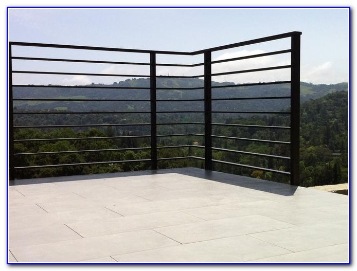 Vertical Cable Deck Railing