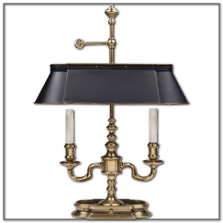 Vintage Frederick Cooper Brass Lamp