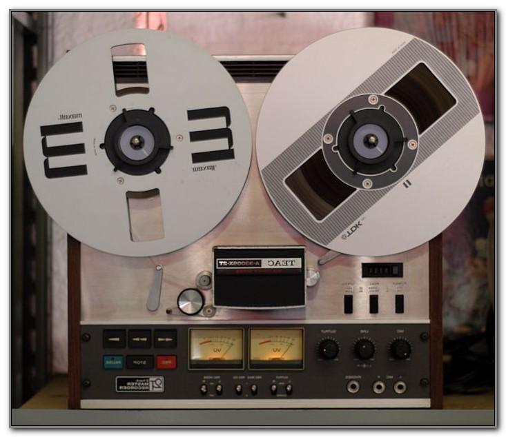 Vintage Reel To Reel Tape Decks