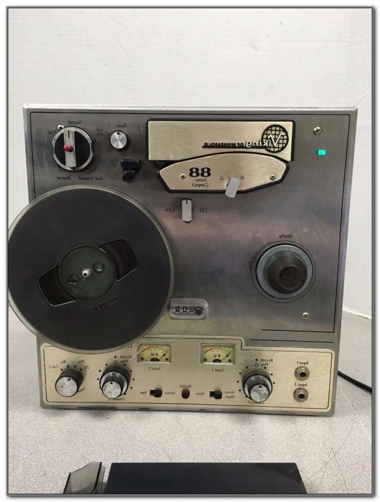 Vintage Reel To Reel Tape Player