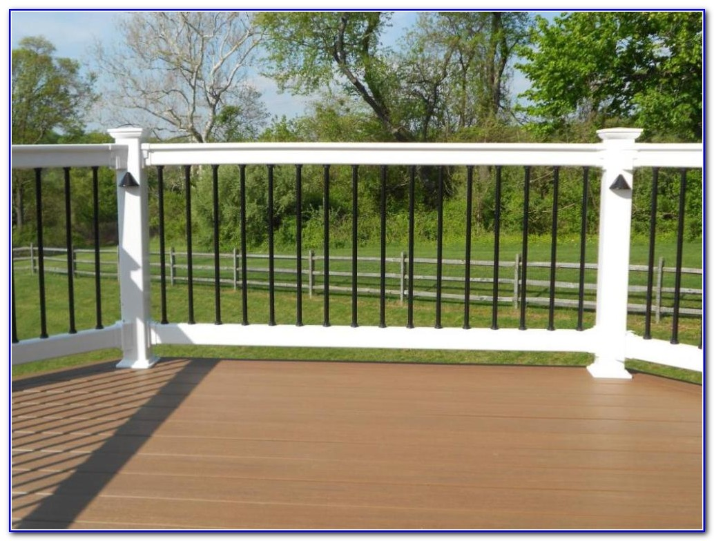 Vinyl Deck Railing Installation
