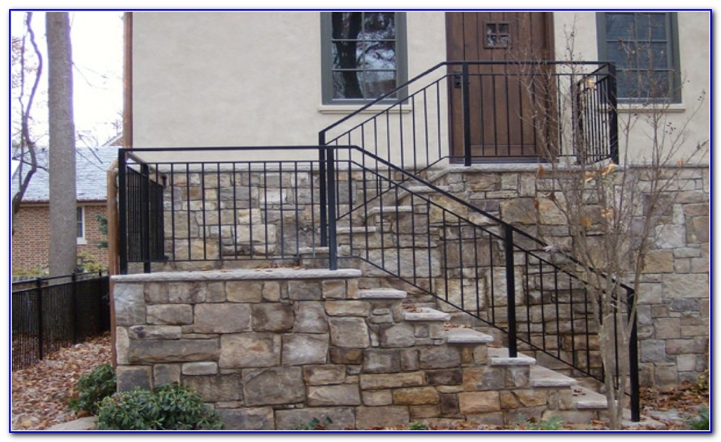 Vinyl Deck Stair Railing