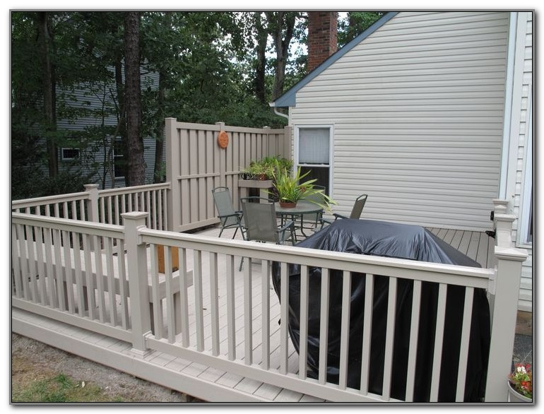 Vinyl Fence And Deck