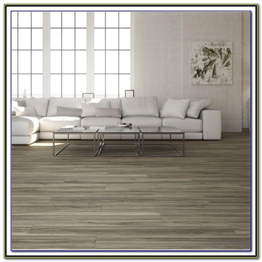 Wami Gray Wood Plank Porcelain Tile