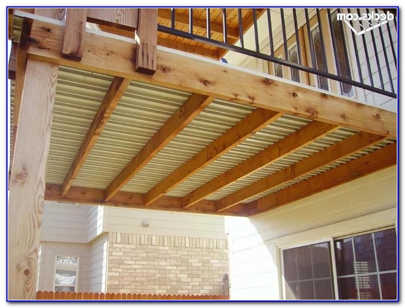 Waterproof Deck Flooring Materials