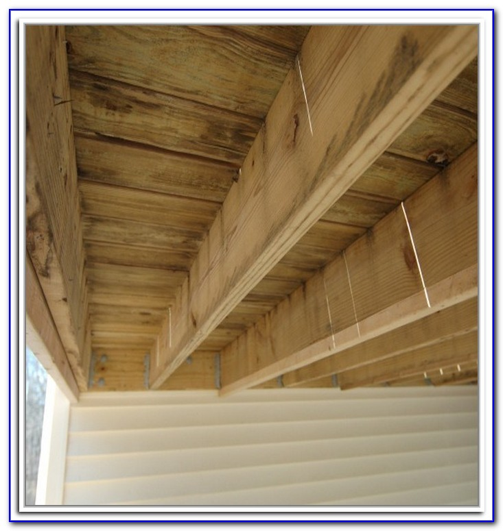 Waterproof Under Deck Storage