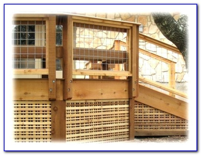 Wire Deck Railing Panels