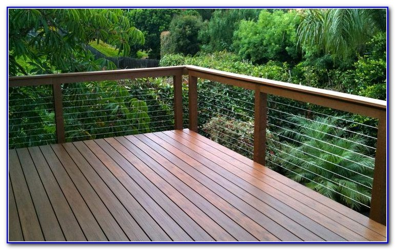 Wire Railing For Decks