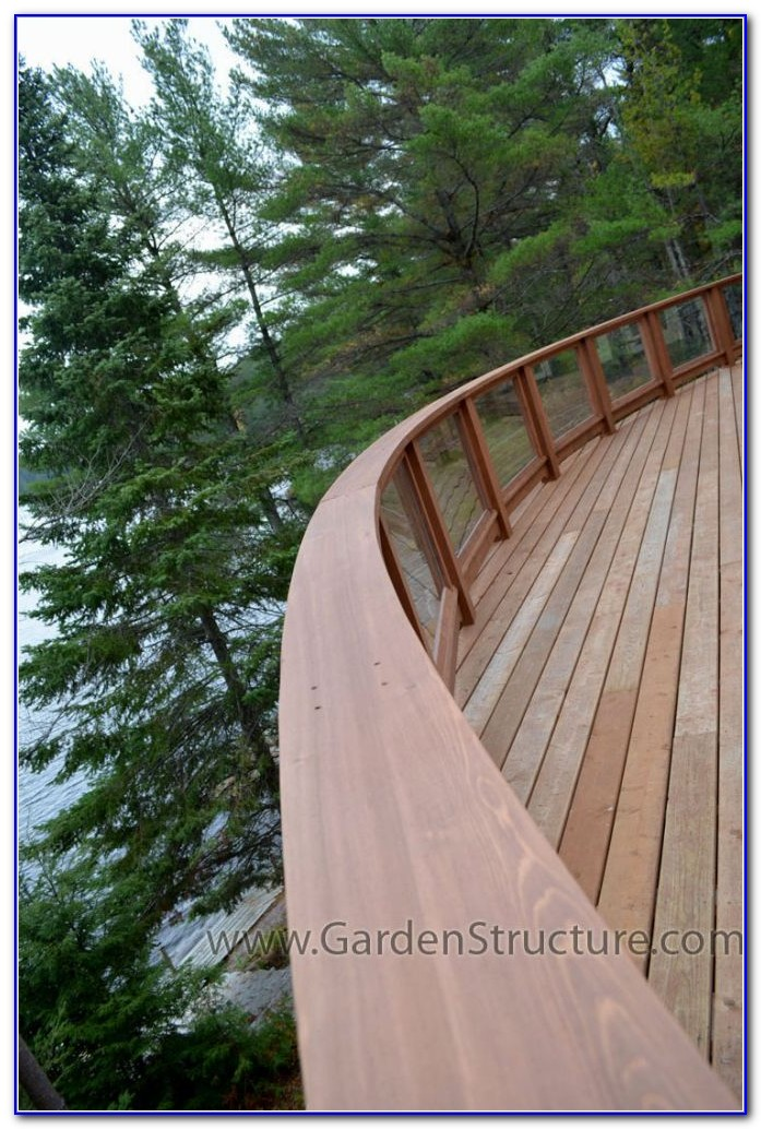 Wood And Metal Deck Railings