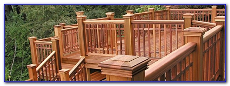Wood Deck Railing Details