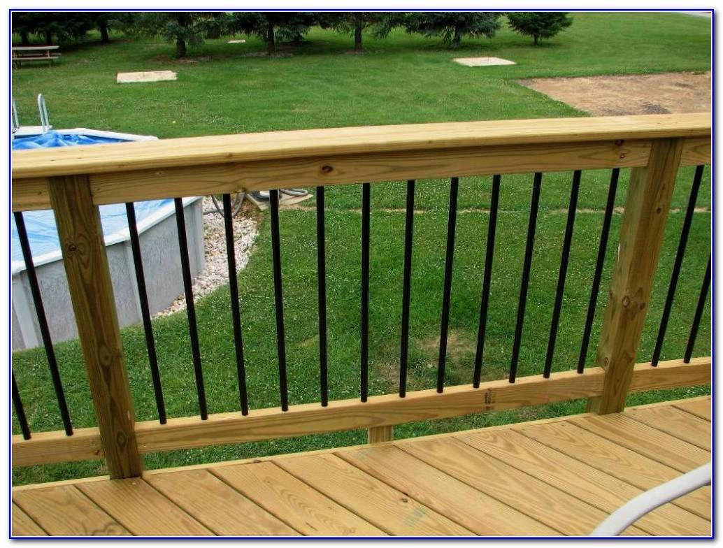 Wood Deck Railing Systems