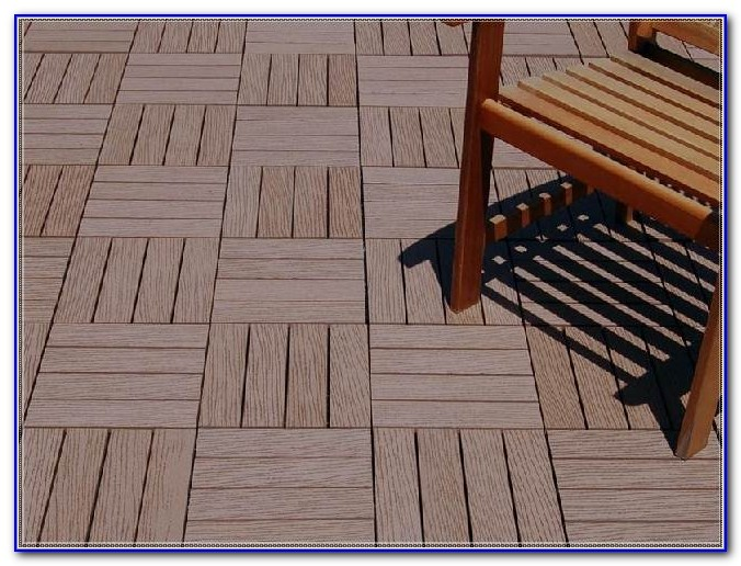 Wood Deck Tiles Over Concrete