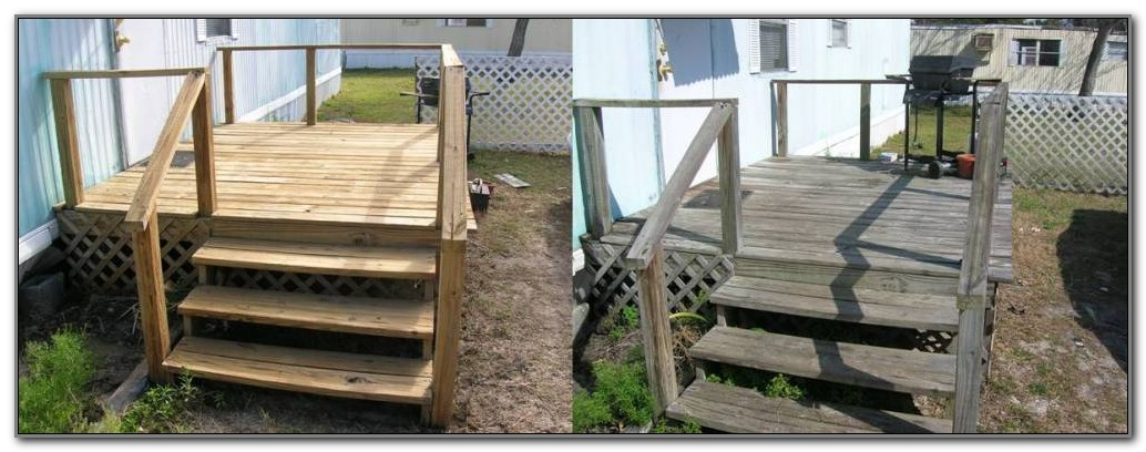 Wood Decks For Mobile Homes