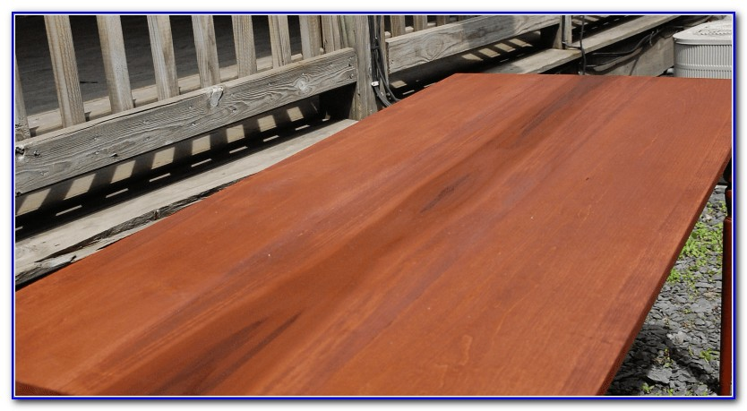 Wood Stain For Decks