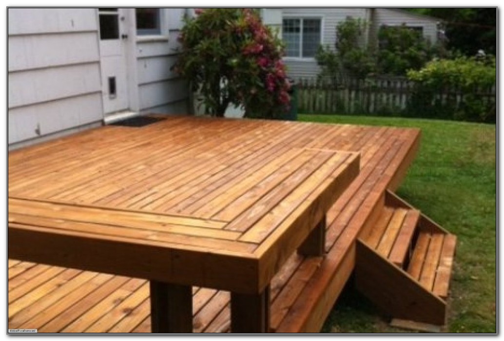 Wood To Build A Deck