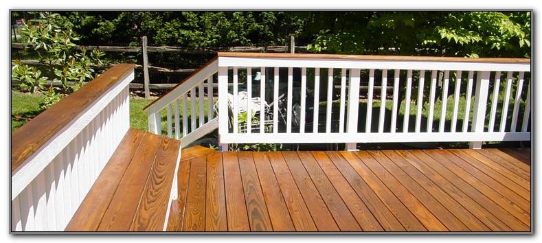 Wooden Deck Color Ideas