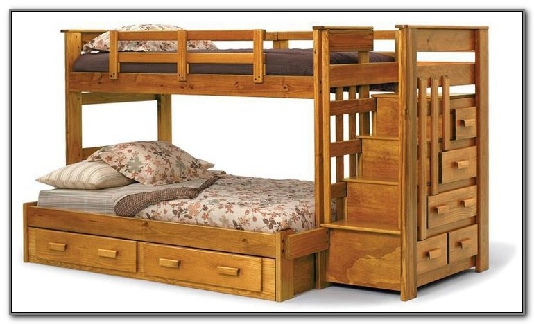 Wooden Double Deck Bed Designs