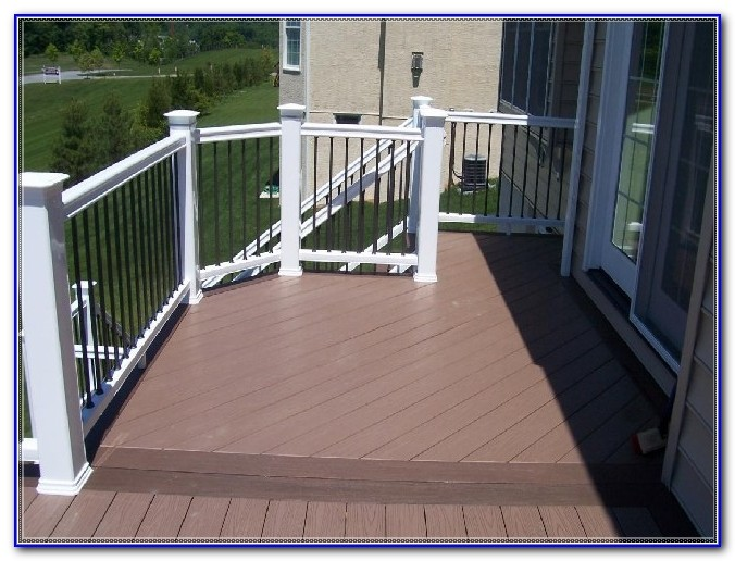 Wrought Iron Deck Railing