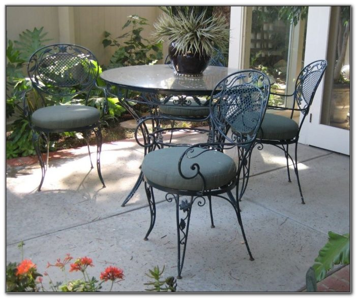 Wrought Iron Outdoor Furniture Manufacturers
