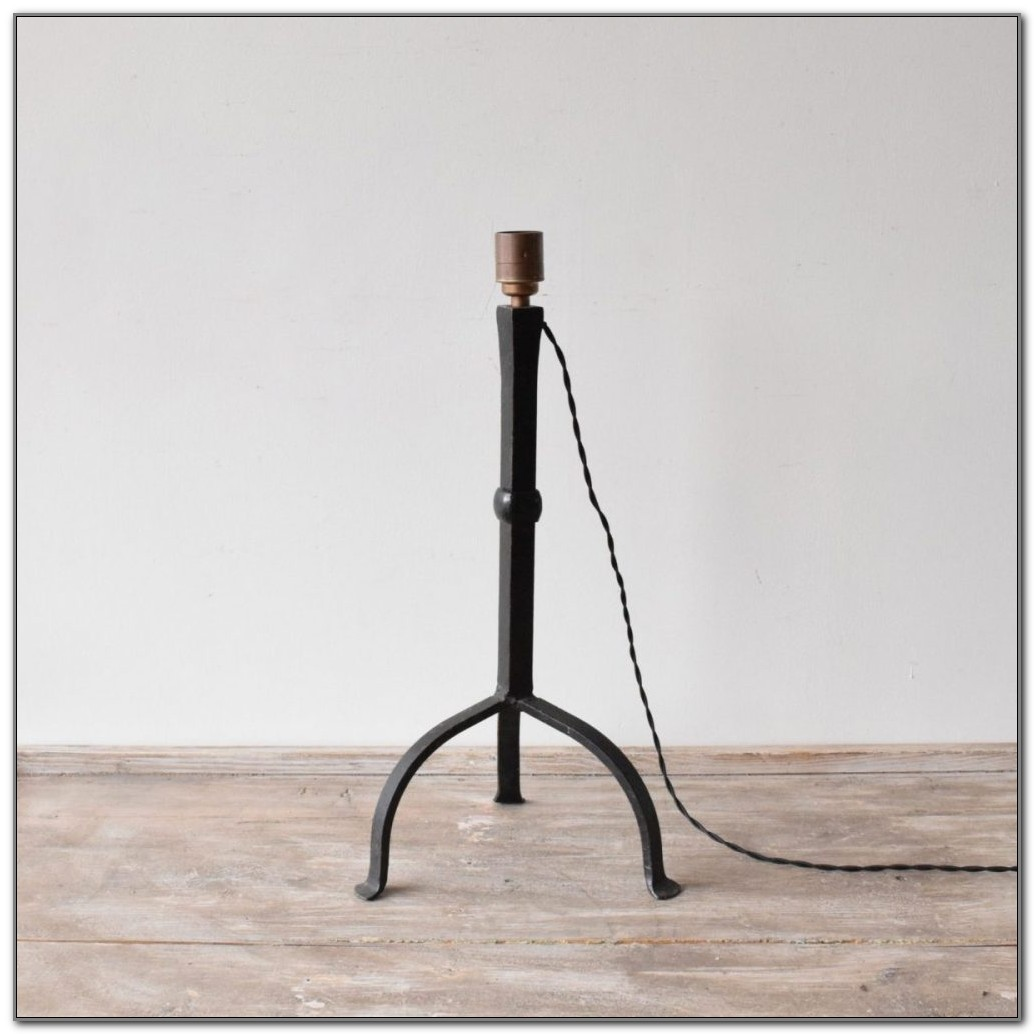 Wrought Iron Table Lamps Antique