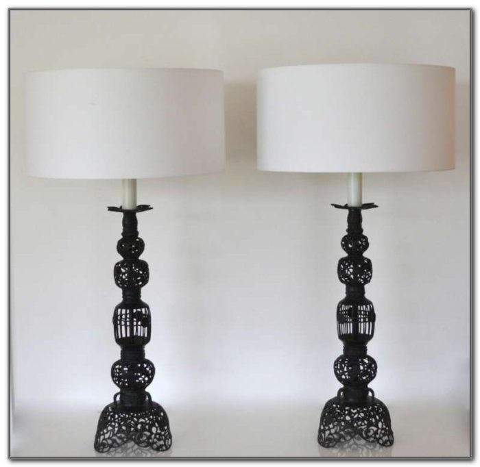 Wrought Iron Table Lamps Canada