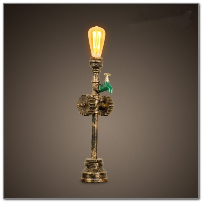 Wrought Iron Table Lamps Living Room