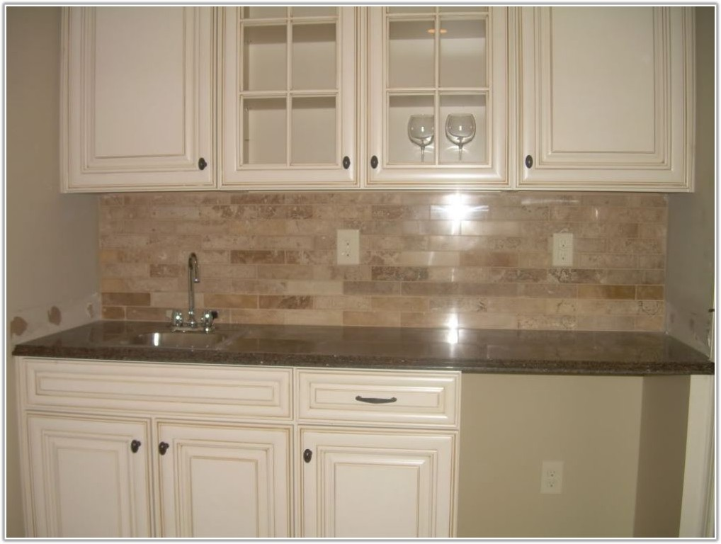 3 X 6 Subway Tile Backsplash