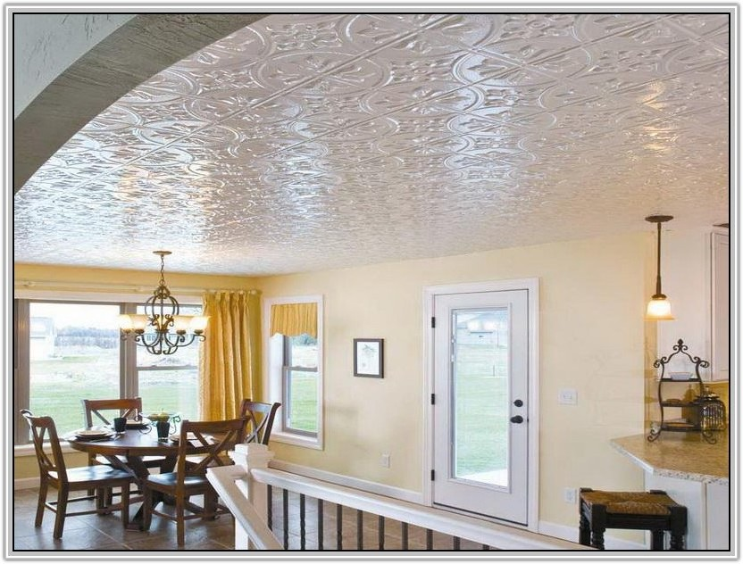 Acoustic Drop Ceiling Tiles Home Depot