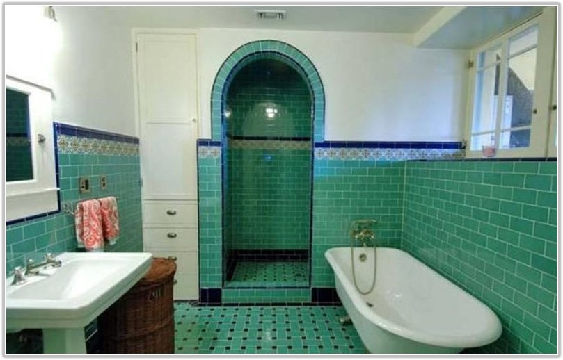 Art Deco Tile Designs Bathroom