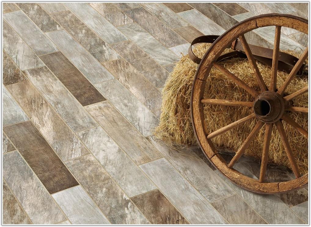 Barn Wood Look Tile Flooring