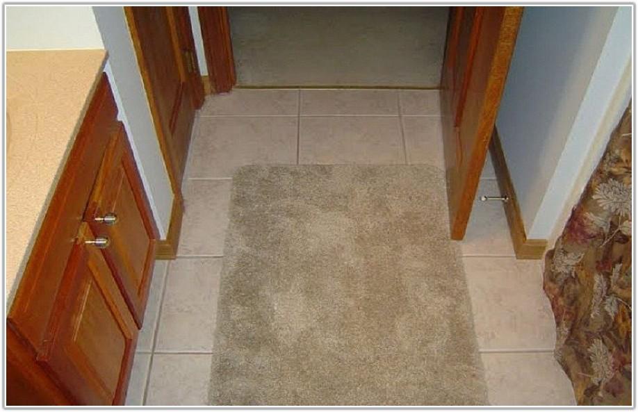 Bathroom Ceramic Tile Flooring Ideas