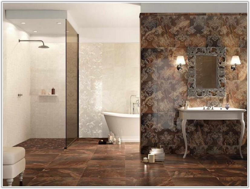 Bathroom Floor And Wall Tile Ideas