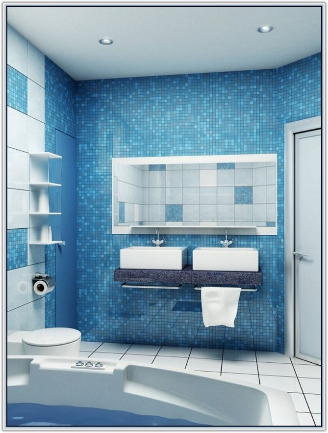 Bathroom Floor And Wall Tiles Combinations
