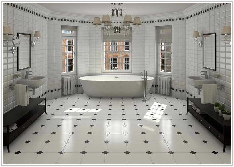 Bathroom Floor Ceramic Tile Designs