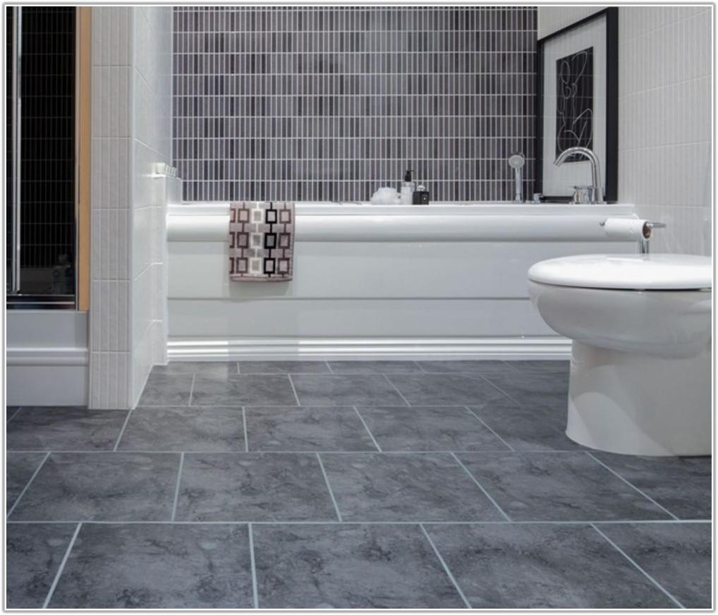 Bathroom Floor Stone Tile Ideas
