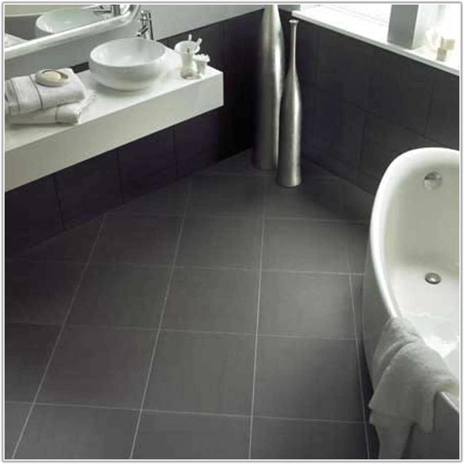 Bathroom Floor Tile Ideas Gray