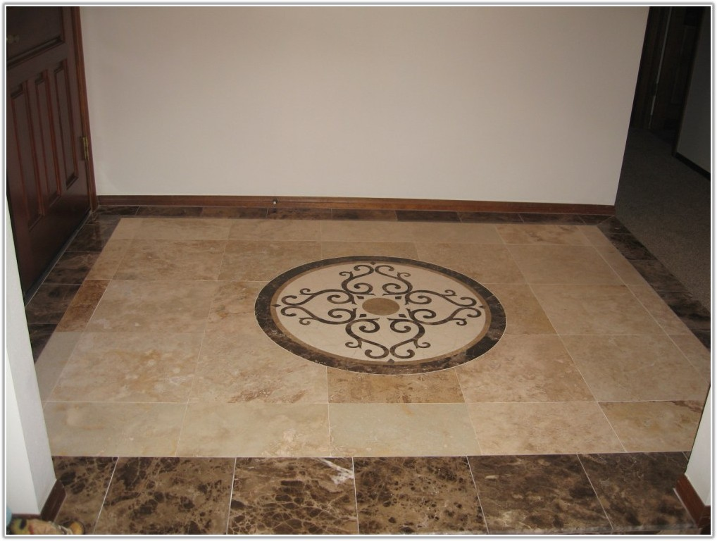 Bathroom Floor Tile Pattern Design