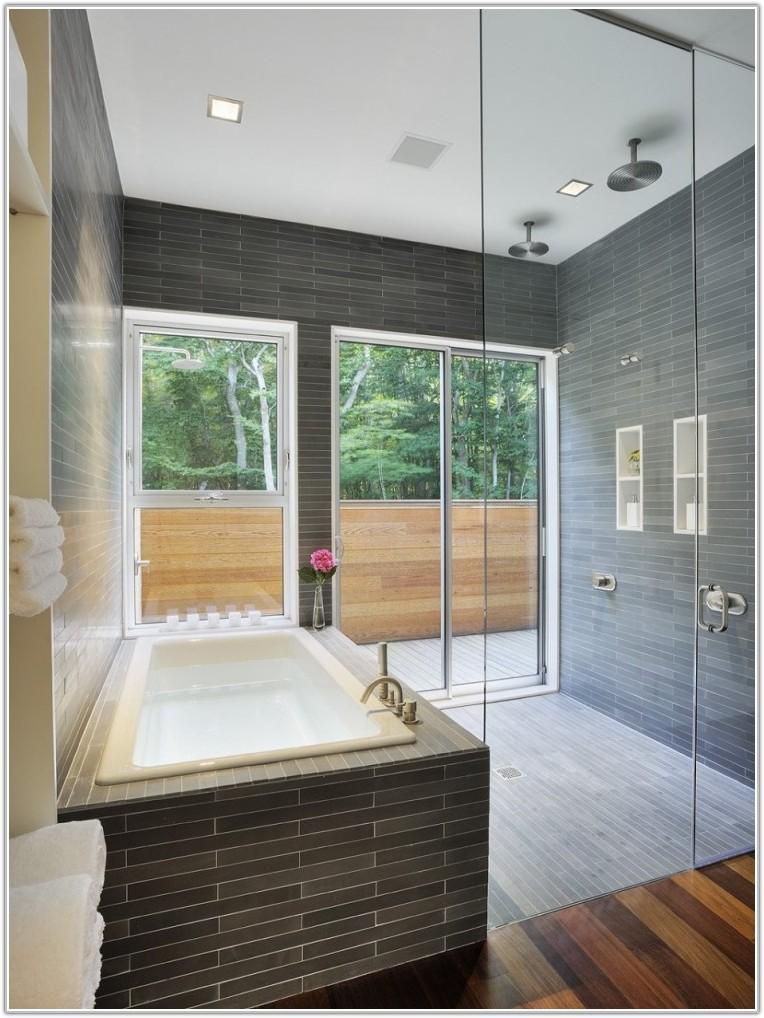 Bathroom Glass Tile Design Ideas