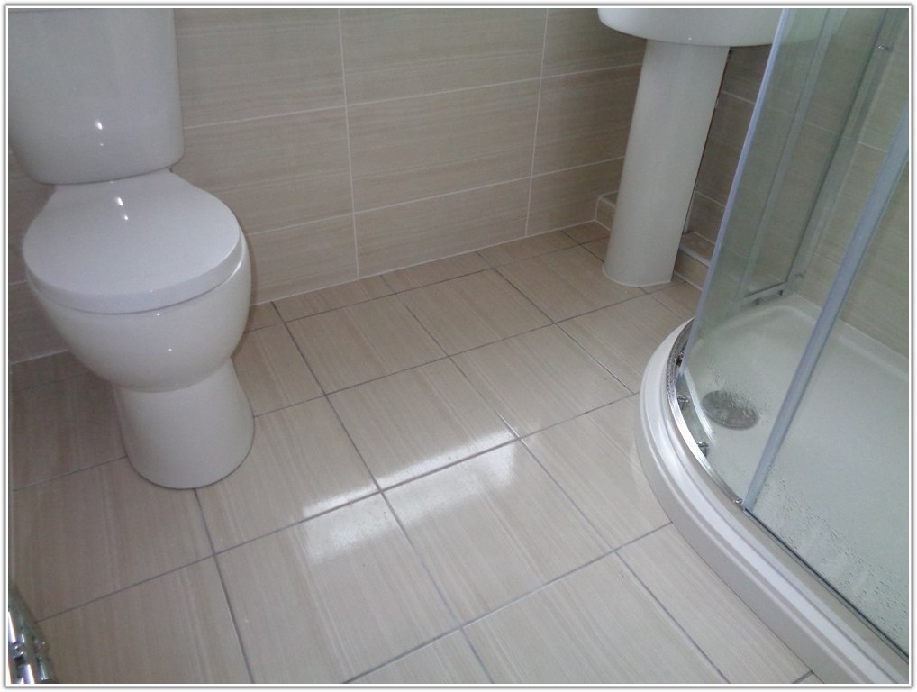 Bathroom Matching Floor And Wall Tiles