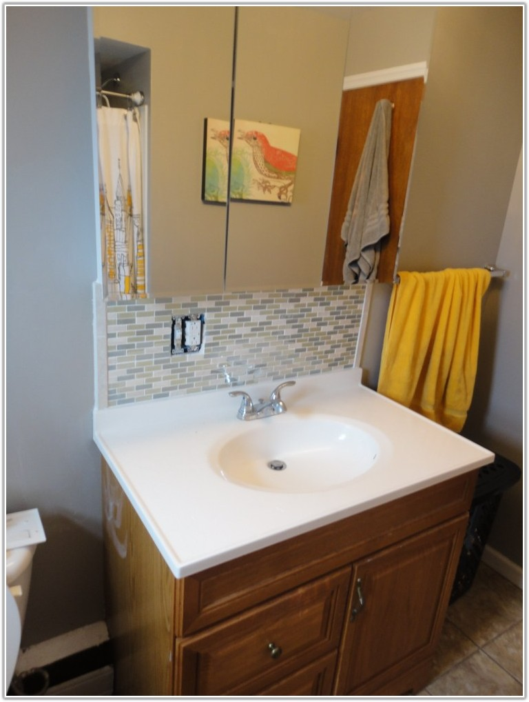 Bathroom Tile Backsplash Design Ideas