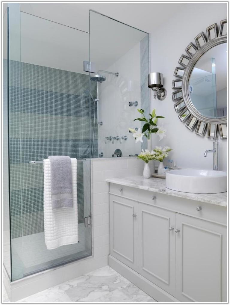 Bathroom Tile Ideas White Cabinets