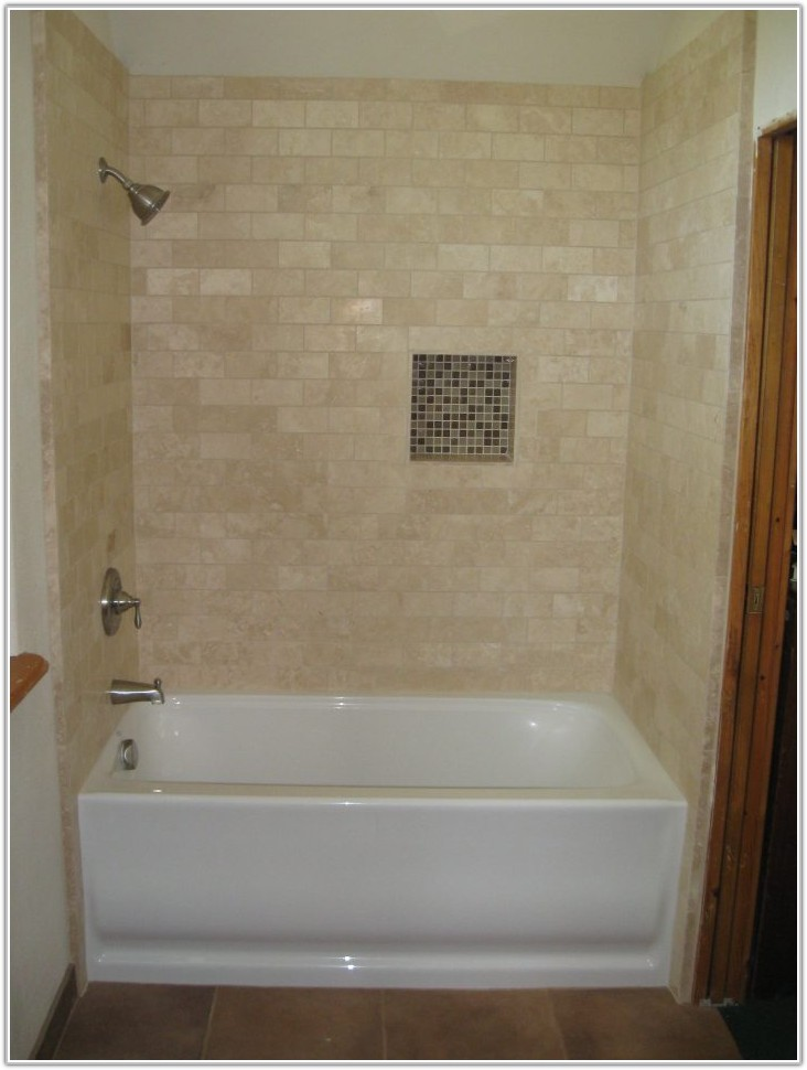 Bathroom Tile Ideas With White Tub