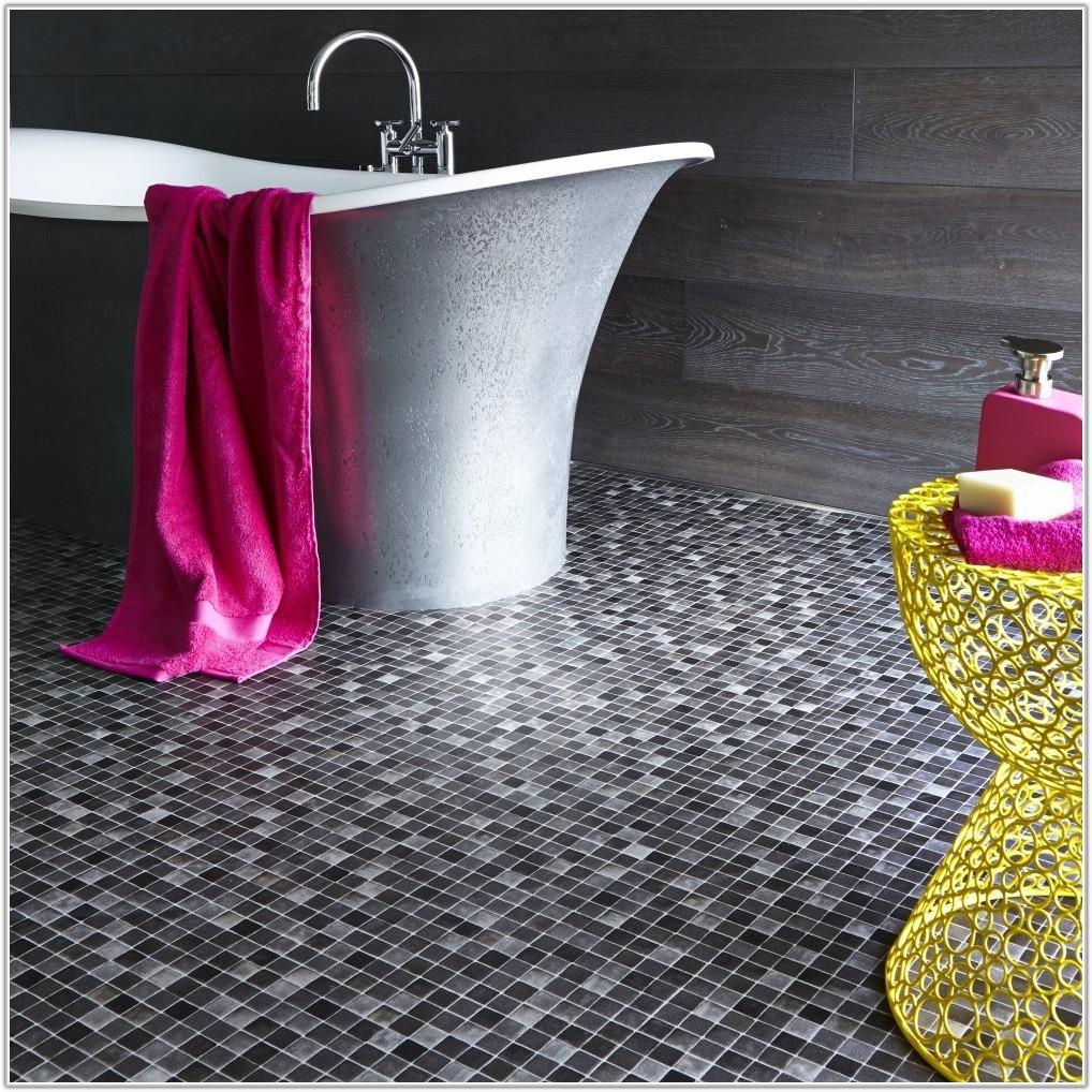Bathroom Vinyl Flooring Tile Effect