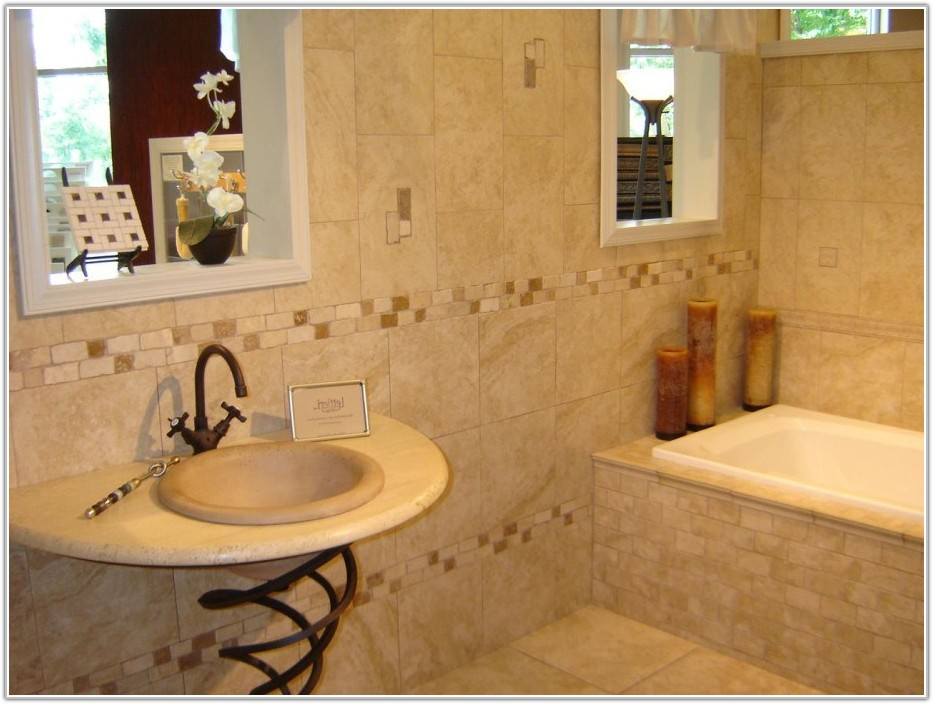 Bathroom Wall Tiles And Floor Tiles