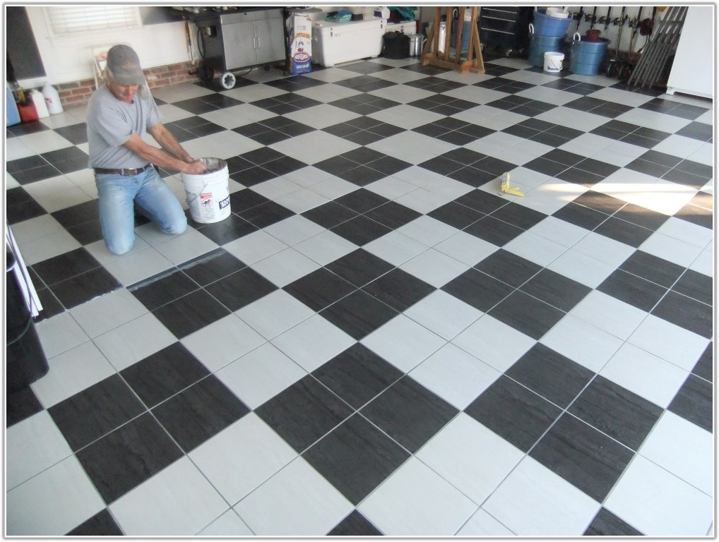Best Floor Tiles For Garage