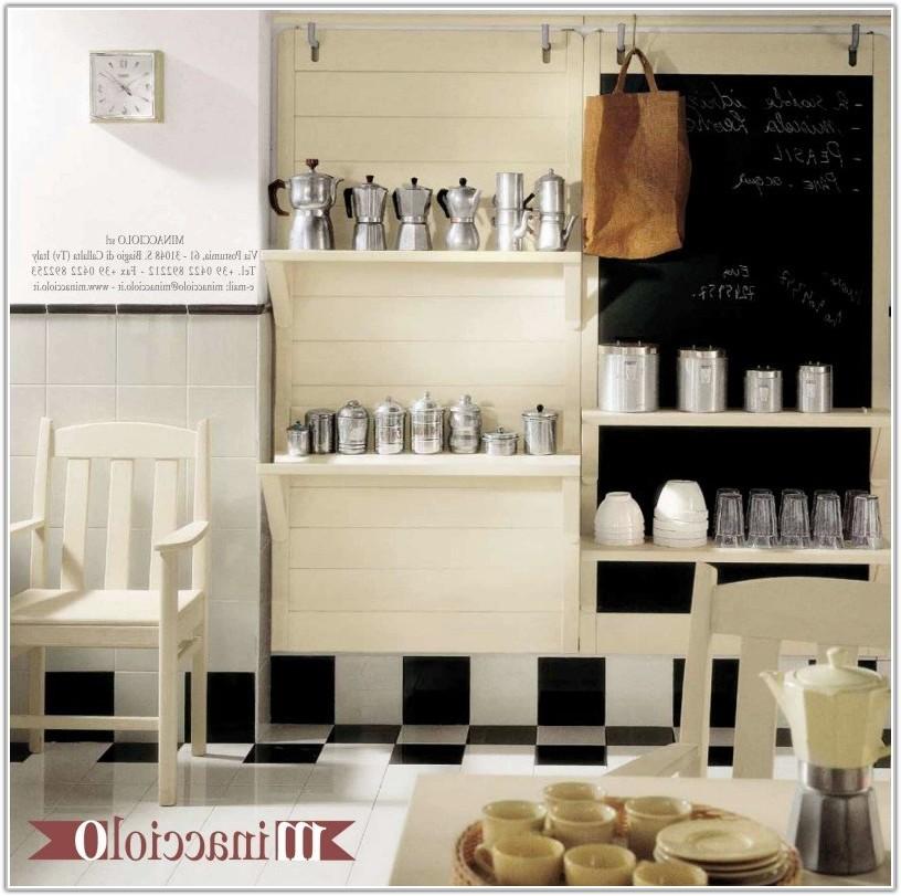 Black And White Kitchen Tile Design Ideas