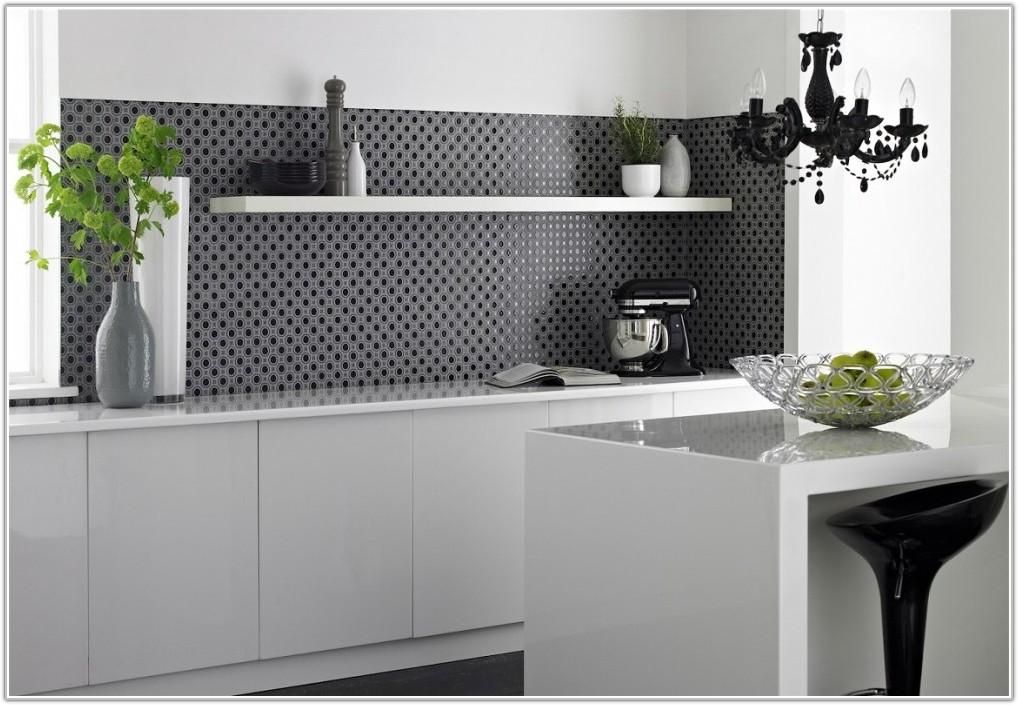 Black And White Kitchen Wall Tiles Ideas