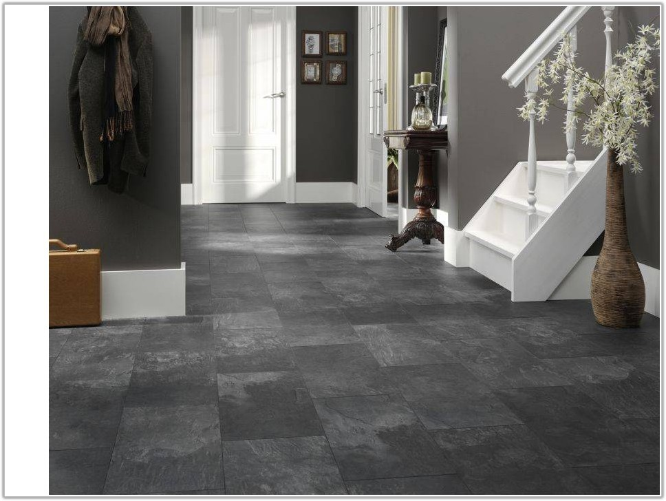 Black And White Laminate Tile Flooring
